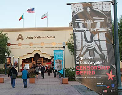 Censorship Defied at the Autry National Center. Photo by Mark Vallen ©