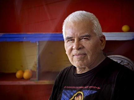 "Recent photo of Gilbert ""Magú"" Luján, taken by photographer Gil Ortiz."
