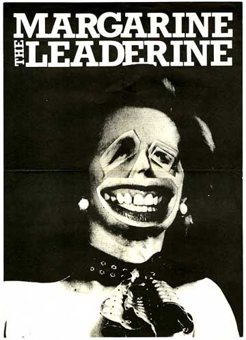 &quot;Margarine the Leaderine&quot; - Gee Vaucher. Collage. 1979. Cover art of Maggie Thatcher for volume two of International Anthem, Vaucher's self-published &quot;nihilist newspaper for the living&quot;.