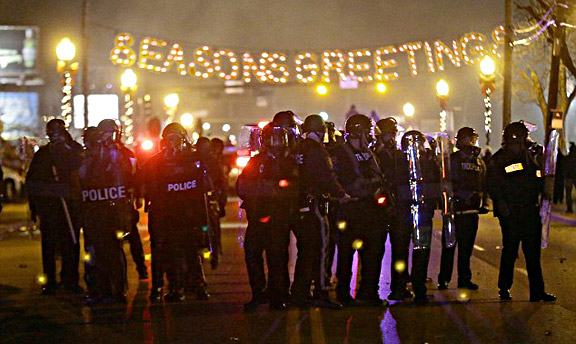 Ferguson photo by Associated Press ©