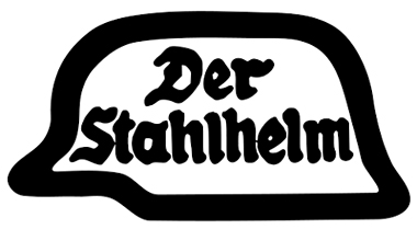 Official logo of the Der Stahlhelm (Steel Helmet).