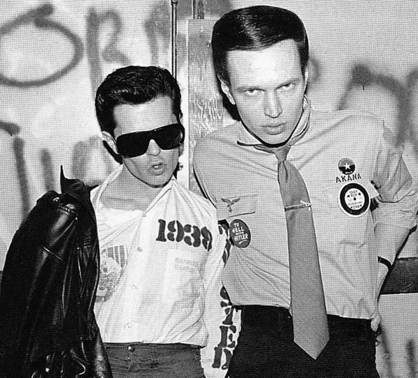 Frankie Fix (left) and Johnny Strike. Photographer unknown.